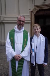 Taufe mit 12